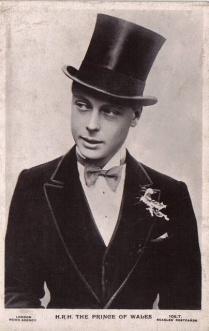 Edward HRH The Prince of Wales