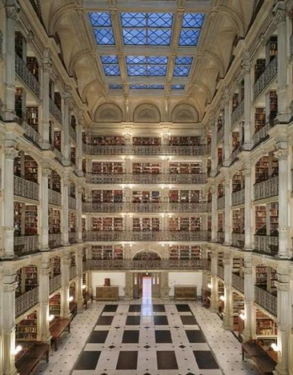 George Peabody Library - Baltimore, Maryland