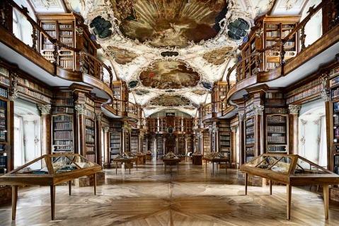Abbey St. Gall Library, Switzerland