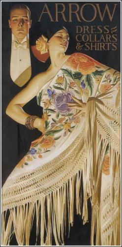 J. C. Leyendecker advertisement for Arrow Collars