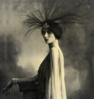 flapper with headdress
