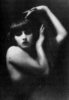 portrait of a flapper girl