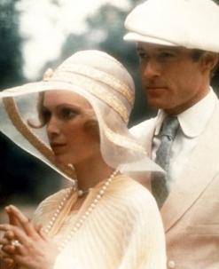 Mia Farrow & Robert Redford in The Great Gatsby 1974