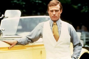 Robert Redford in The Great Gatsby 1974