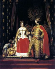 476px-Edwin_Henry_Landseer_-_Queen_Victoria_and_Prince_Albert_at_the_Bal_Costumé_of_12_May_1842