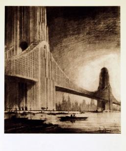 Apartments on Bridges, 1925