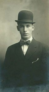 Young Man in Bowler Hat