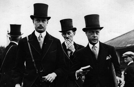 Men in tophats