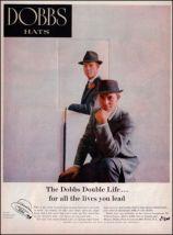 1956 Dobbs Hats for Men