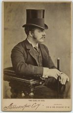 The handsome and dandy Earl of Fife, husband of Pss Louise of Wales. Late 1880s