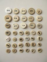 covred buttons