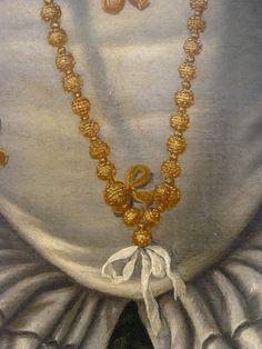 detail portrait of a lady, 1540, Moretto da Brescia