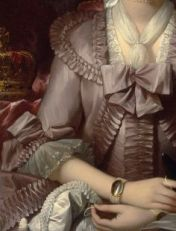 Queen Charlotte Benjamin West Oil on canvas c. 1777