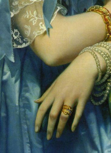 Joséphine-Éléonore-Marie-Pauline de Galard de Brassac de Béarn (1825–1860), Princesse de Broglie Jean-Auguste-Dominique Ingres (French, Montauban 1780–1867 Paris) Date: 1851–53 Culture: French