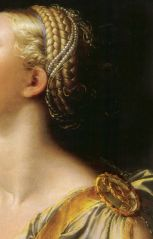 Parmigianino (Girolamo Francesco Maria Mazzola) (Italian 1503–1540) [Mannerism] Lucrezia, 1540.