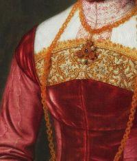 Portrait Detail. (c. 1561) by Nicolas Neufchatel