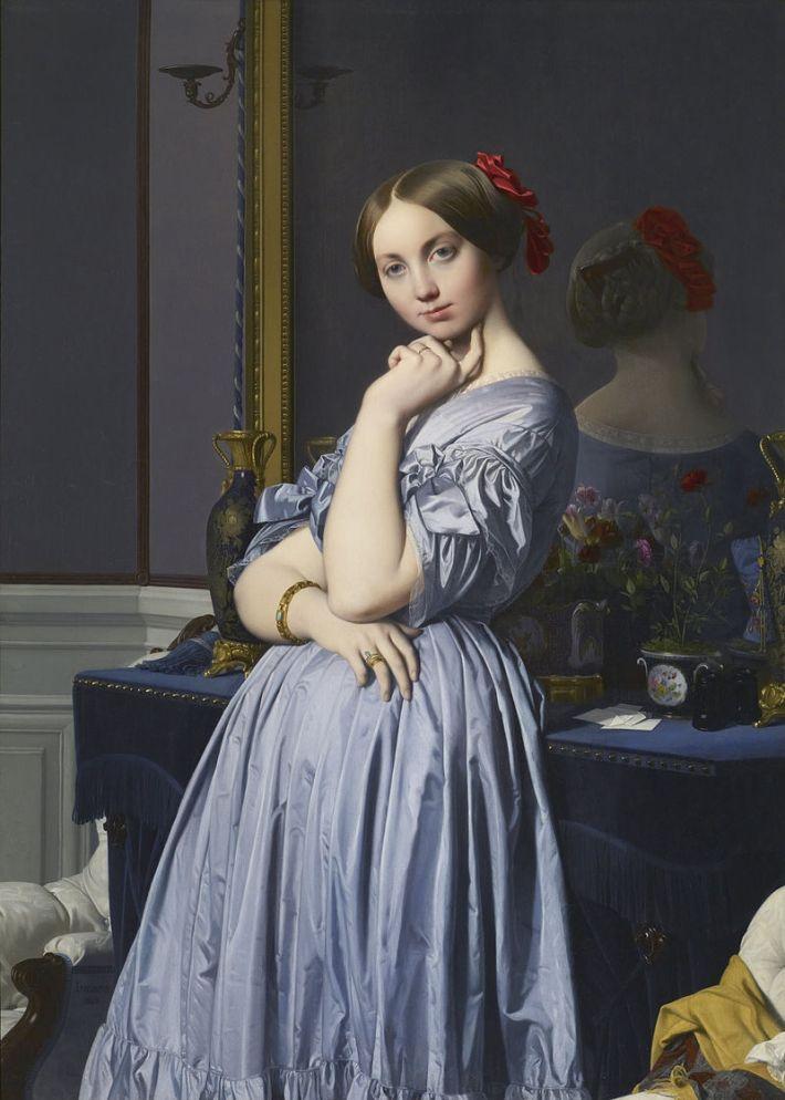800px-Jean-Auguste-Dominique_Ingres_-_Comtesse_d'Haussonville_-_Google_Art_Project
