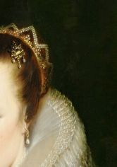 Mother and child (detail) by Cornelis de Vos (1584-1651).