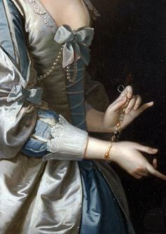 Thomas Hudson ~ Portrait of a Woman, 1749