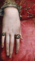 Eleonora di Toledo 1543 by Agnolo Bronzino